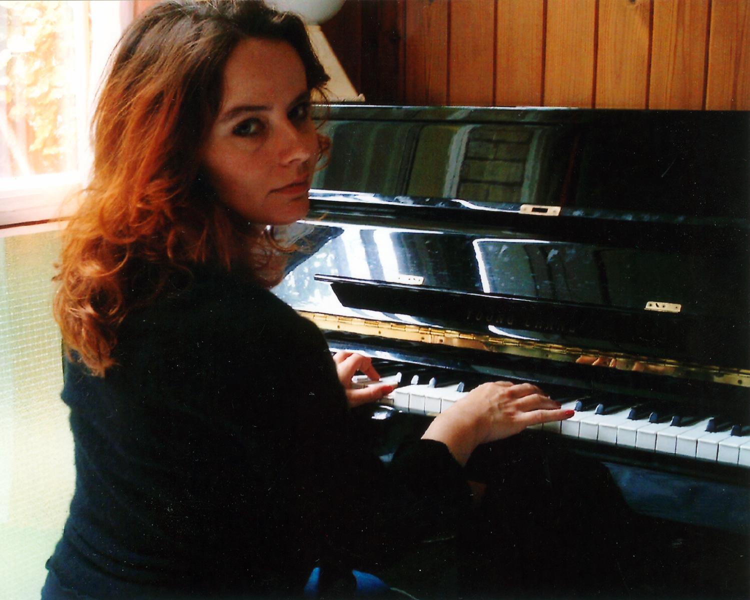 Lorna at the Piano - 2003